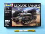 "Plastic ModelKit military 03180 - ""Leopard"" 2 A6M (1:72)"