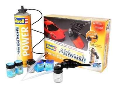 Airbrush Komplet Set 39196 - starter class Plastikové modely