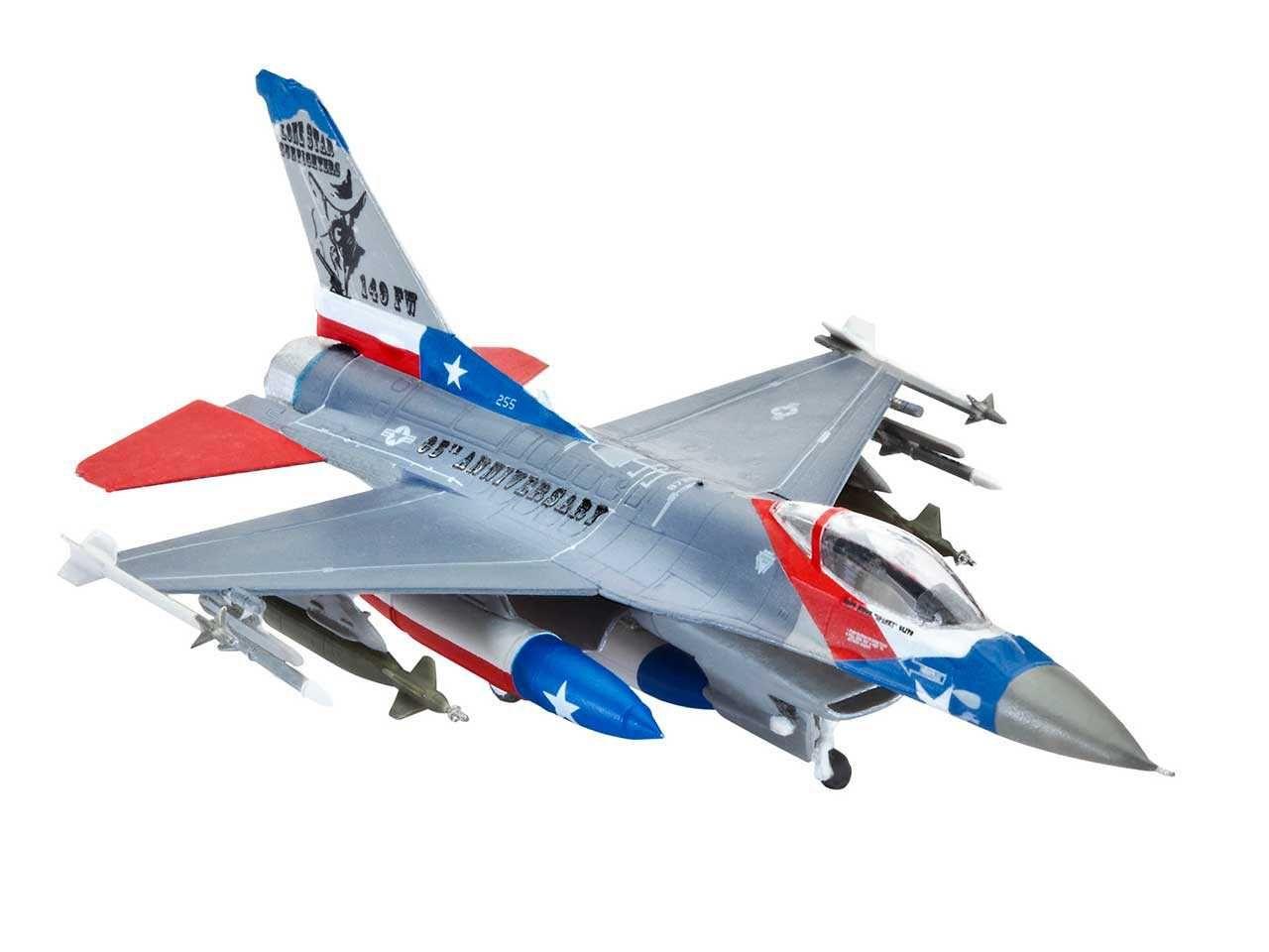 ModelSet letadlo 63992 - F-16C USAF (1:144) Plastikové modely