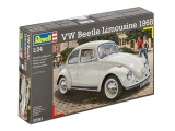Plastic ModelKit auto 07083 - VW Käfer 1500 (Limousine) Plastikové modely