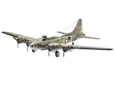 """Plastic ModelKit letadlo 04279 - B-17F """"Memphis Belle"""" (1:72) Plastikové modely"""