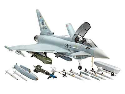 Plastic ModelKit letadlo 04855 - Eurofighter Typhoon Plastikové modely