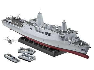 Plastic ModelKit loď 05118 - Amphibious Transport Dock U.S.S. New York (LPD-21) (1:350) Plastikové modely