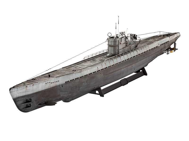 Plastic ModelKit ponorka 05114 - German Submarine Type IX C (1:72) Plastikové modely