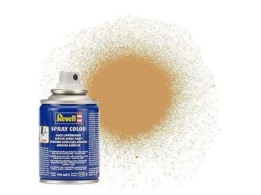 Barva Revell ve spreji - 34188: matná okrově hnědá (ochre brown mat) Plastikové modely