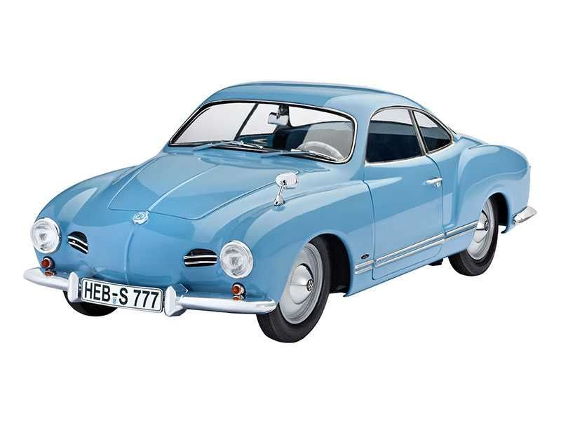 Plastic ModelKit auto Limited Editions 07491 - VW Karmann Ghia Coupé (1:16) Plastikové modely