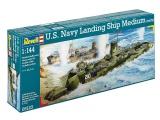 Plastic ModelKit loď 05123 - U.S. Navy Landing Ship Medium (LSM) (1:144) Plastikové modely