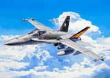 Plastic ModelKit letadlo 04894 - F/A-18C Hornet (1:72) Plastikové modely