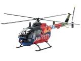 Plastic ModelKit vrtulník 04906 - BO 105 35th Anniversary of Roth Fly-Out Version (1:32)
